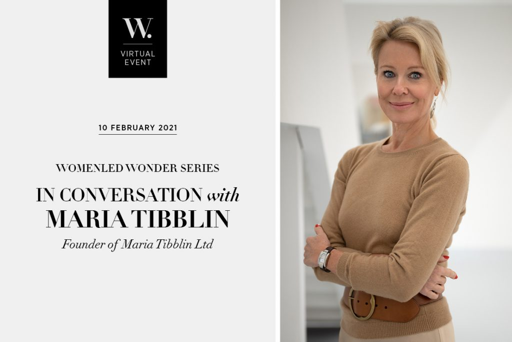 WomenLed Wonder: In Conversation with Maria Tibblin