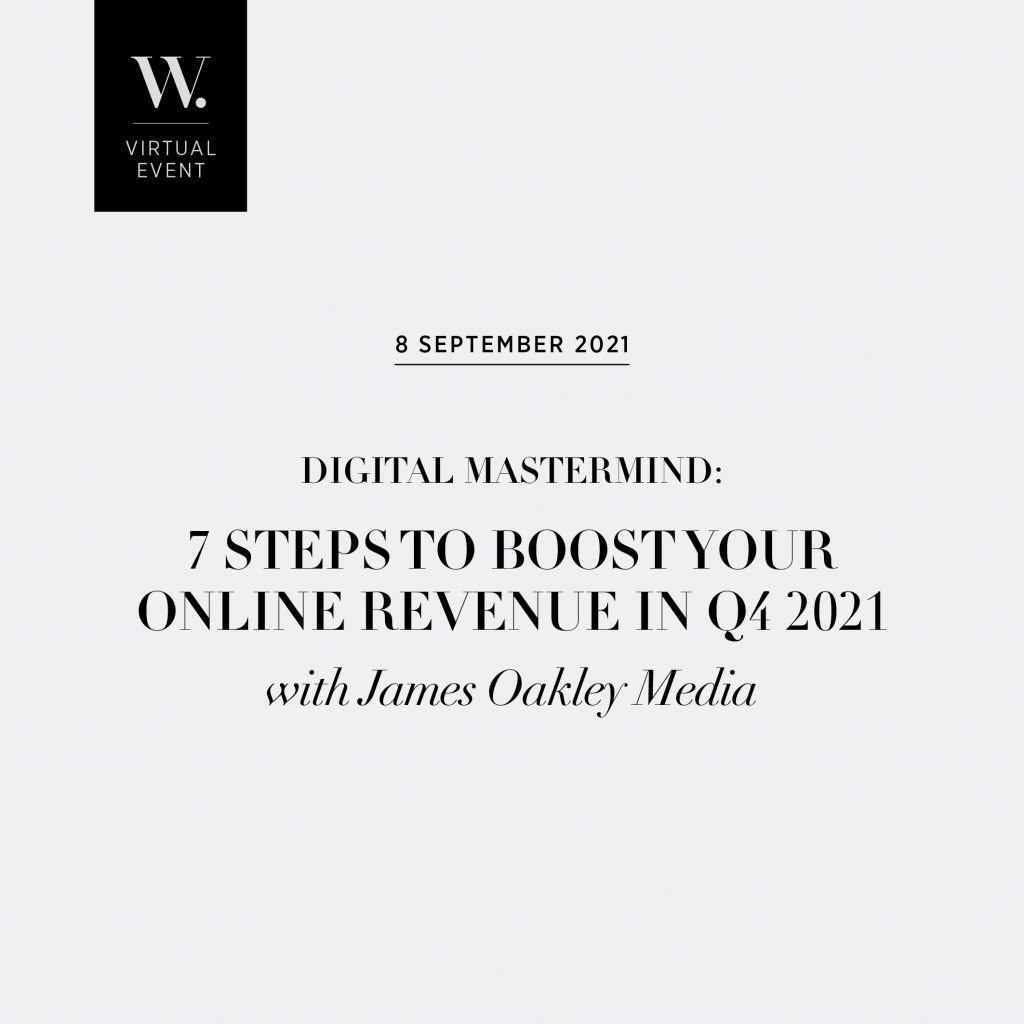 DIGITAL MASTERMIND: 7 Steps to Boost Your Online Revenue in Q4 2021