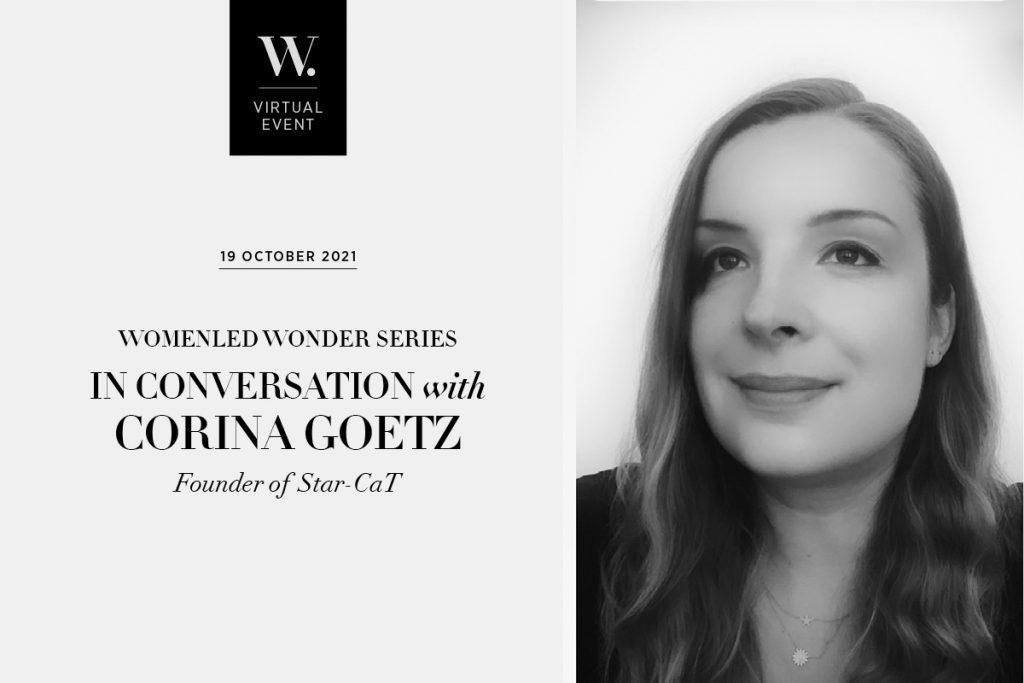 WOMENLED WONDER: In Conversation with Corina Goetz